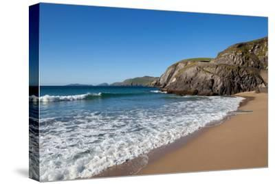 Coumeenoole Beach; Slea Head; Dingle Peninsula; County Kerry; Ireland--Stretched Canvas Print