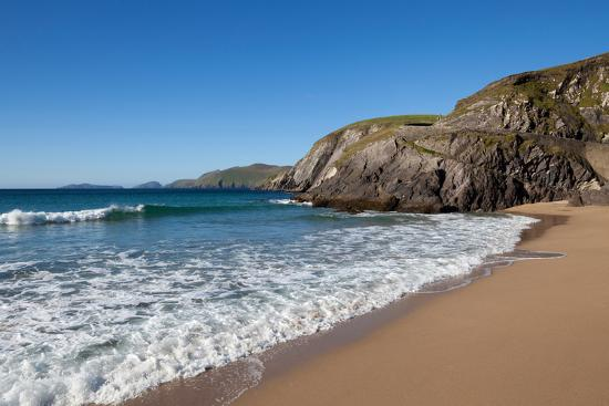 Coumeenoole Beach; Slea Head; Dingle Peninsula; County Kerry; Ireland--Photographic Print