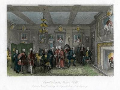 Council Chamber, Vintners' Hall, City of London-E Redclyffe-Giclee Print