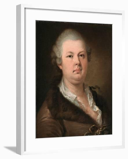 Count Alessandro Di Cagliostro (1743-179)-Johann-Baptist Lampi the Younger-Framed Giclee Print