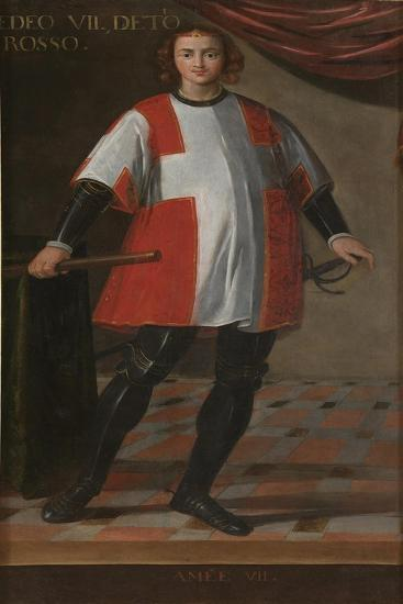Count Amadeus VII of Savoy (1360-139)--Giclee Print