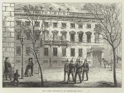 Count Arnim's Residence on the Pariser-Platz, Berlin-Frank Watkins-Giclee Print