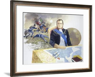 Count Cavour from 'Heart'-Edmondo De Amicis-Framed Giclee Print