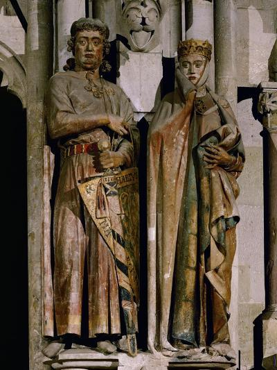 Count Ekkehard and Countess Uta, Donor Figures from the West Choir, 13th Century--Giclee Print