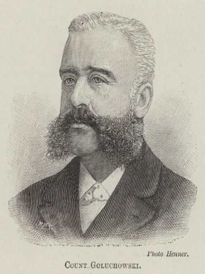 Count Goluchowski--Giclee Print