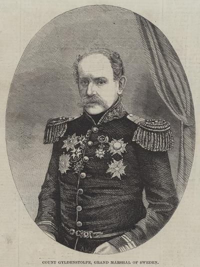 Count Gyldenstolpe, Grand Marshal of Sweden--Giclee Print