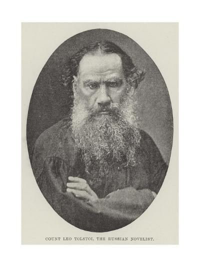 Count Leo Tolstoi, the Russian Novelist--Giclee Print