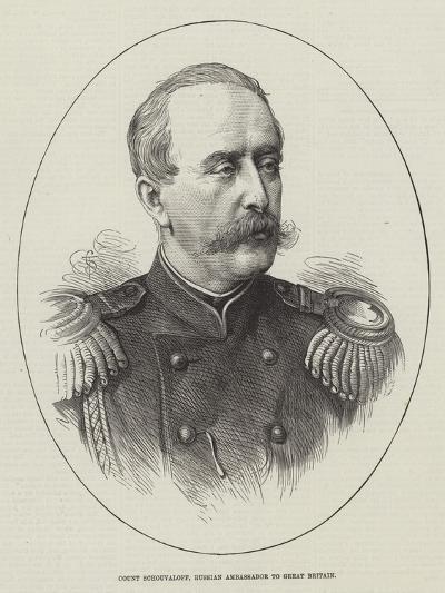 Count Schouvaloff, Russian Ambassador to Great Britain--Giclee Print