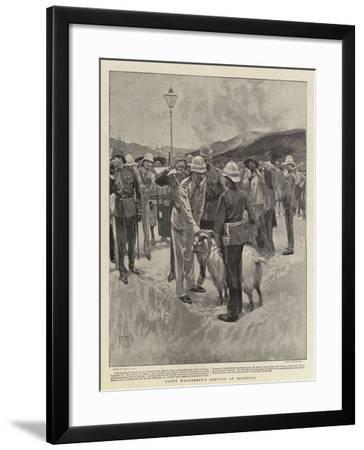 Count Waldersee's Arrival at Shanghai-Frank Craig-Framed Giclee Print