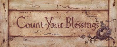 Count Your Blessings-Stephanie Marrott-Art Print