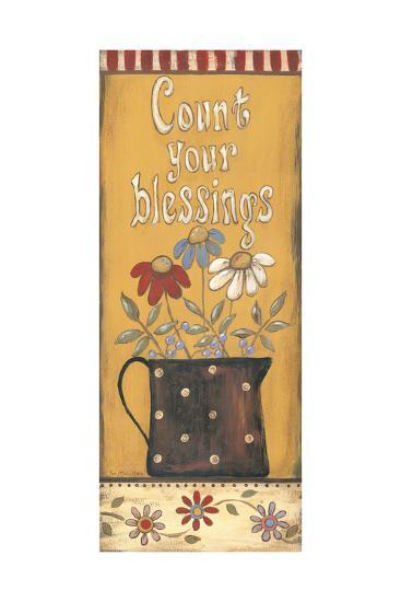 Count Your Blessings-Jo Moulton-Art Print