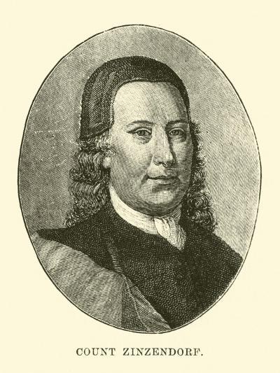 Count Zinzendorf--Giclee Print