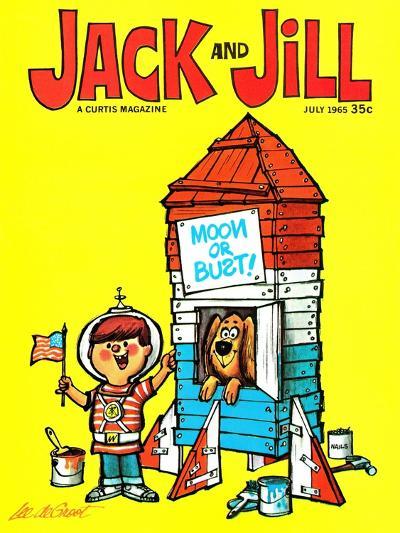 Countdown - Jack and Jill, July 1965-Lee de Groot-Giclee Print