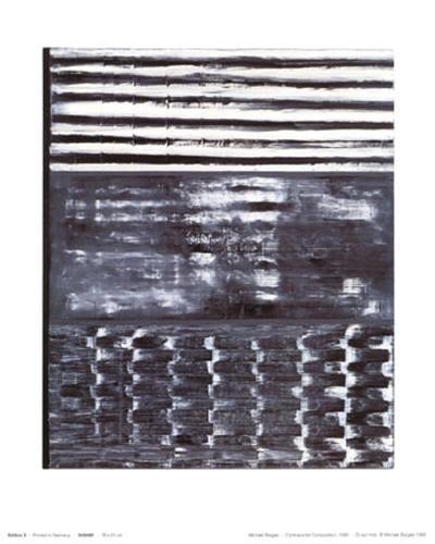 Counterpoint Composition, c.1996-Michael Burges-Art Print