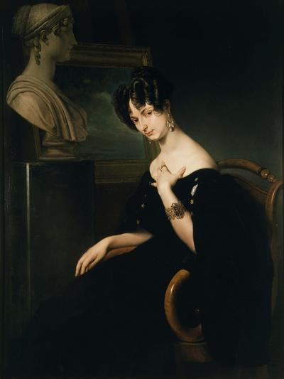 Countess Cristina Barbiano de Belgioioso-Francesco Hayez-Giclee Print