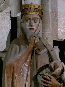 Countess Uta, Detail of Head, 13th Century