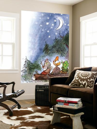 Counting the Stars - Turtle-Valeri Gorbachev-Wall Mural