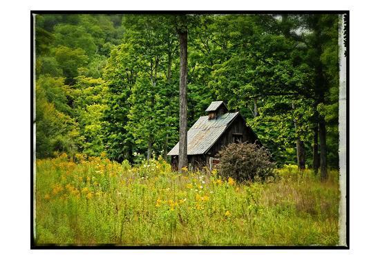 Country Barn 1-Suzanne Foschino-Art Print