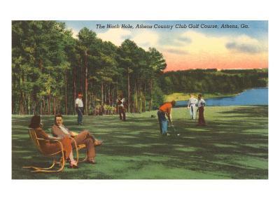 Country Club, Athens, Georgia--Art Print