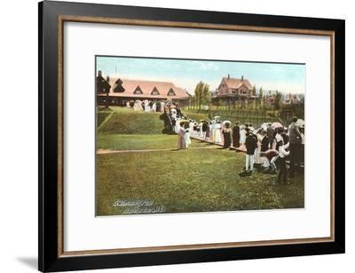 Country Club, Bar Harbor, Maine--Framed Art Print