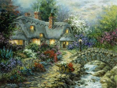 Country Cottage-Nicky Boehme-Giclee Print