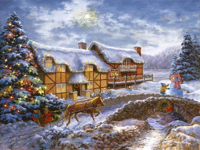 Country Cottages-Nicky Boehme-Giclee Print