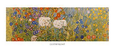 Country Garden with Sunflowers Detail-Gustav Klimt-Art Print