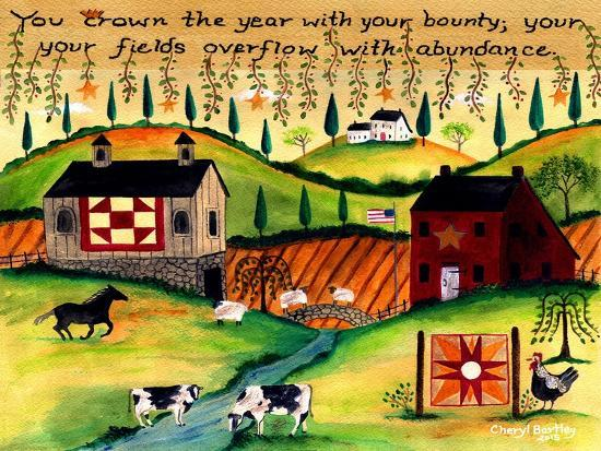 Country Harvest Dream Lang-Cheryl Bartley-Giclee Print