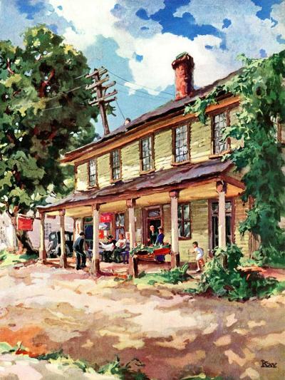 """""""Country Inn,""""September 1, 1939-G. Kay-Giclee Print"""