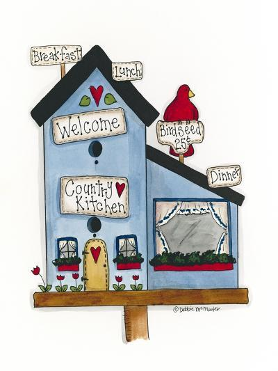 Country Kitchen Birdhouse-Debbie McMaster-Giclee Print
