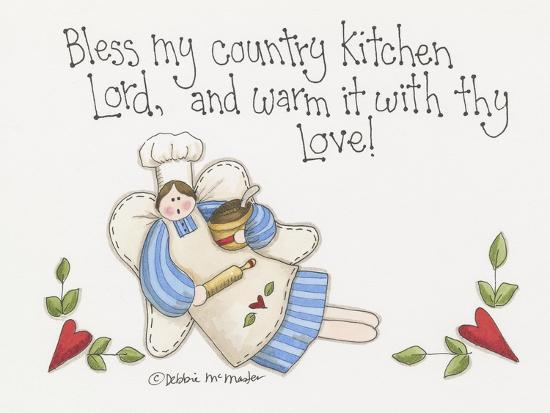 Country Kitchen-Debbie McMaster-Giclee Print