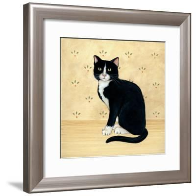 Country Kitty I-David Cater Brown-Framed Art Print