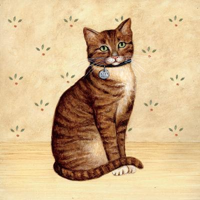 Country Kitty IV-David Cater Brown-Art Print