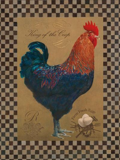 Country Living Rooster-Luanne D'Amico-Art Print