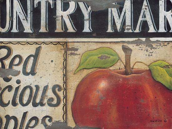Country Market-Kim Lewis-Art Print