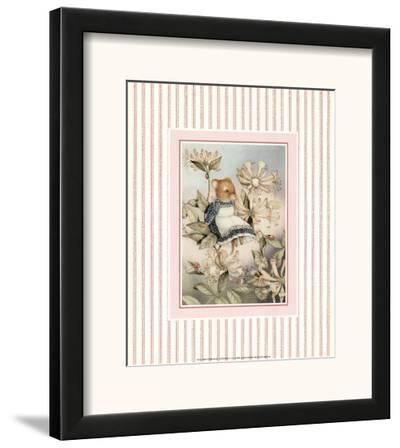 Country Mouse II-C Formby-Framed Art Print