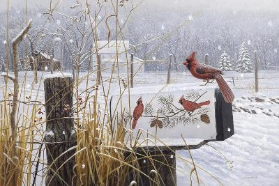 Country Red-Michael Budden-Giclee Print