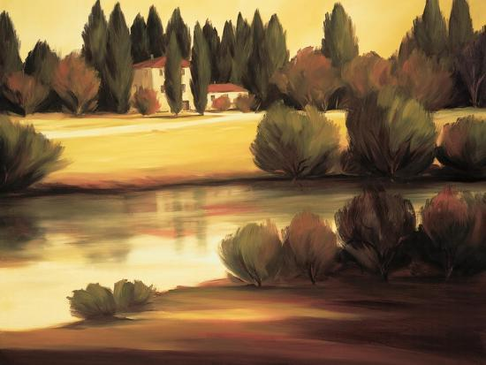 Country Reflections-Tim Howe-Premium Giclee Print