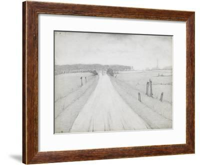 Country Road, 1925-Laurence Stephen Lowry-Framed Premium Giclee Print
