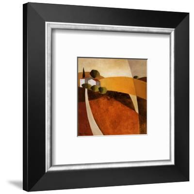 Country Road I-Hans Paus-Framed Art Print