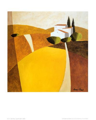 Country Road II-Hans Paus-Art Print