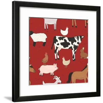 Country Roads Step 01B-Laura Marshall-Framed Art Print