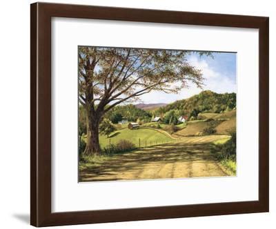 Country Roads-Lene Alston Casey-Framed Art Print