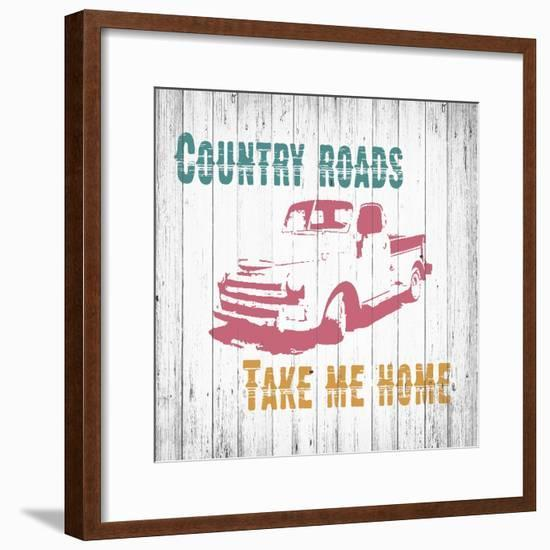 Country Roads-Alicia Soave-Framed Art Print