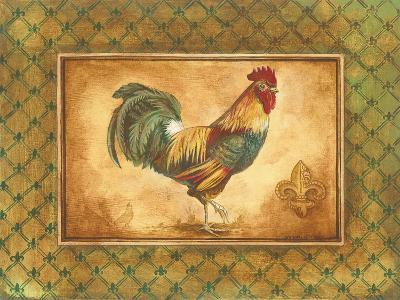 Country Rooster I-Gregory Gorham-Premium Giclee Print