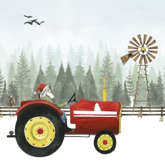 Country Santa II-Grace Popp-Art Print