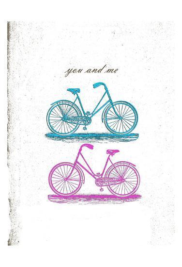 Country Side Biking-Sheldon Lewis-Art Print