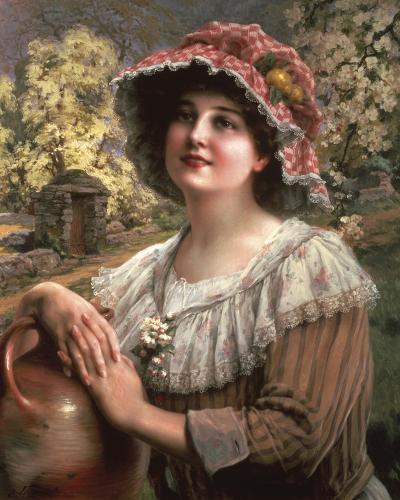 Country Spring-Emile Vernon-Giclee Print