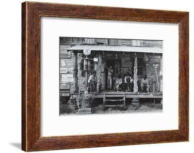 Country Store-Dorothea Lange-Framed Art Print