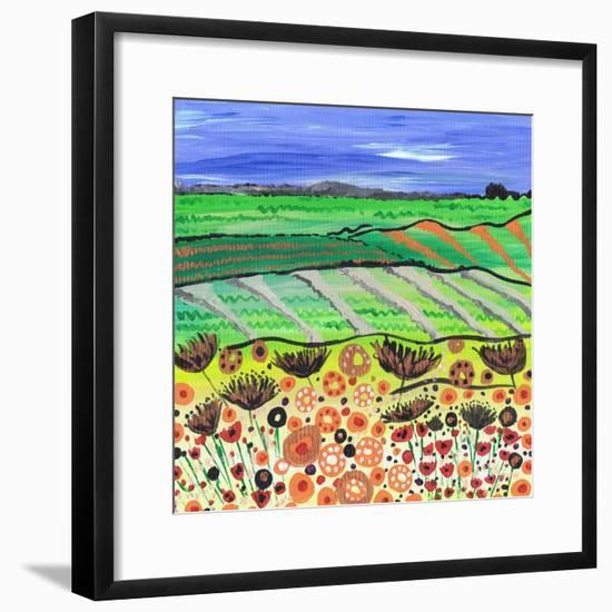 Country Ways-Caroline Duncan-Framed Giclee Print